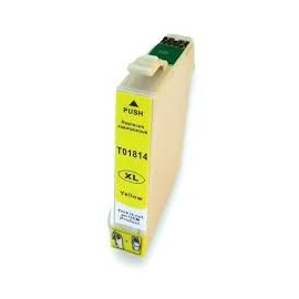 Cartucho Generico Epson T1814 Yellow
