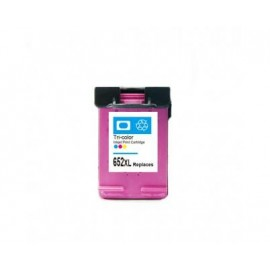 HP 652XL TRICOLOR CARTUCHO DE TINTA REMANUFACTURADO F6V24AE